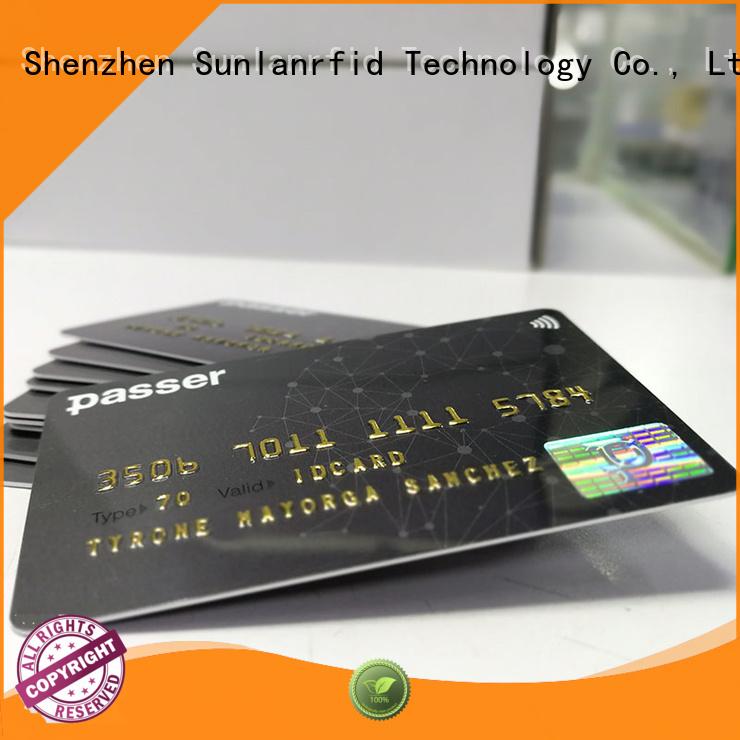 Sunlanrfid desfire transit card series for shopping center