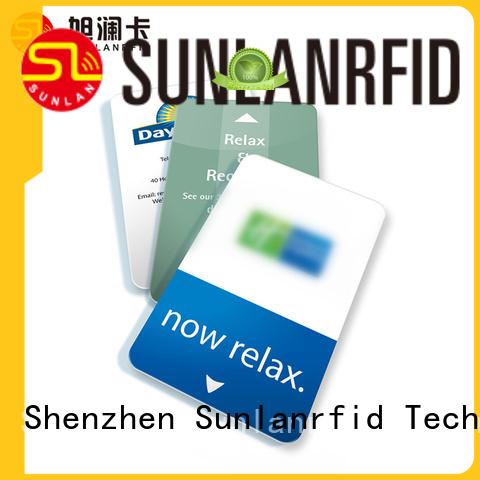 Sunlanrfid plus room key card supplier for opening door