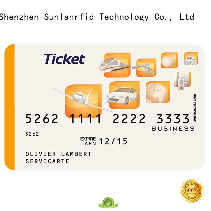 Sunlanrfid Custom edenred restaurant card for business for transportation