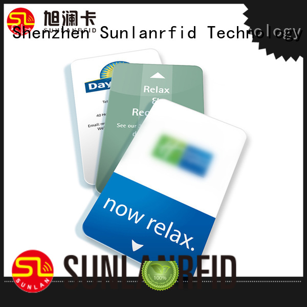 Sunlanrfid online hotel room card series for hotel