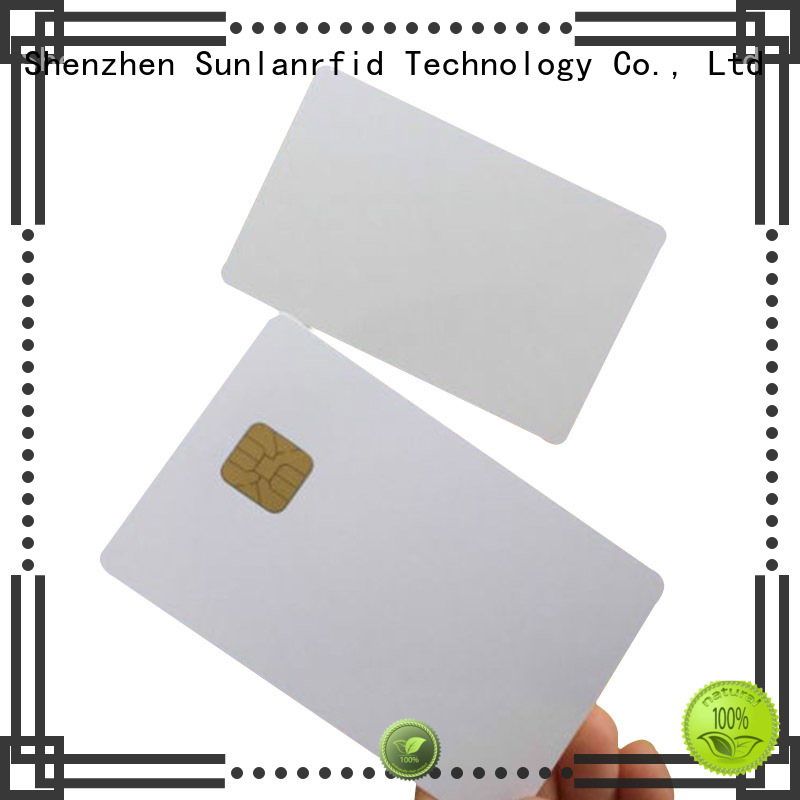Sunlanrfid contact integrated circuit card reader supplier for parking