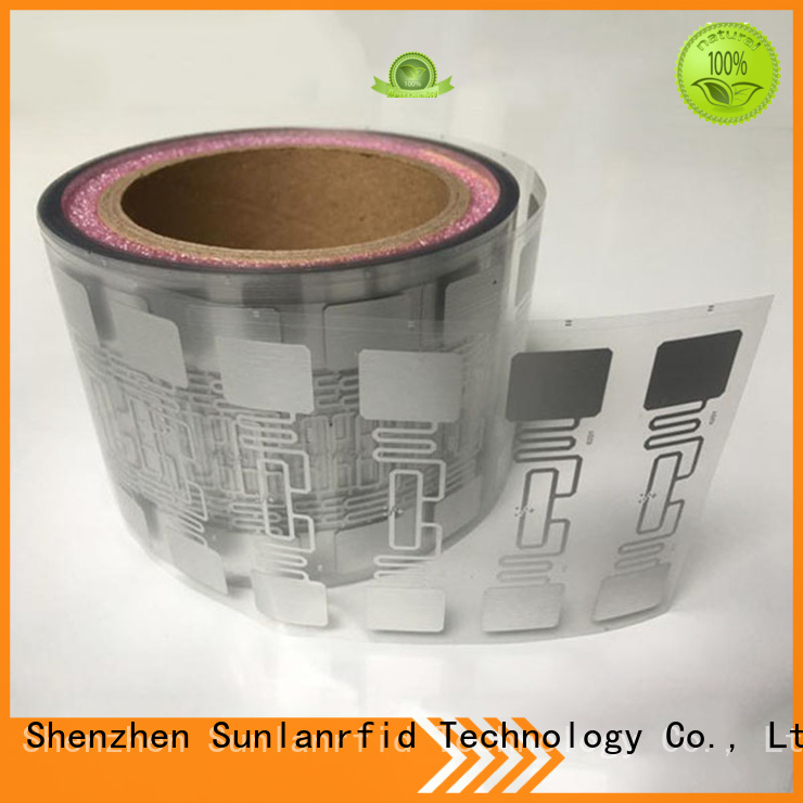Sunlanrfid rfid uhf dry inlay writer for hologram