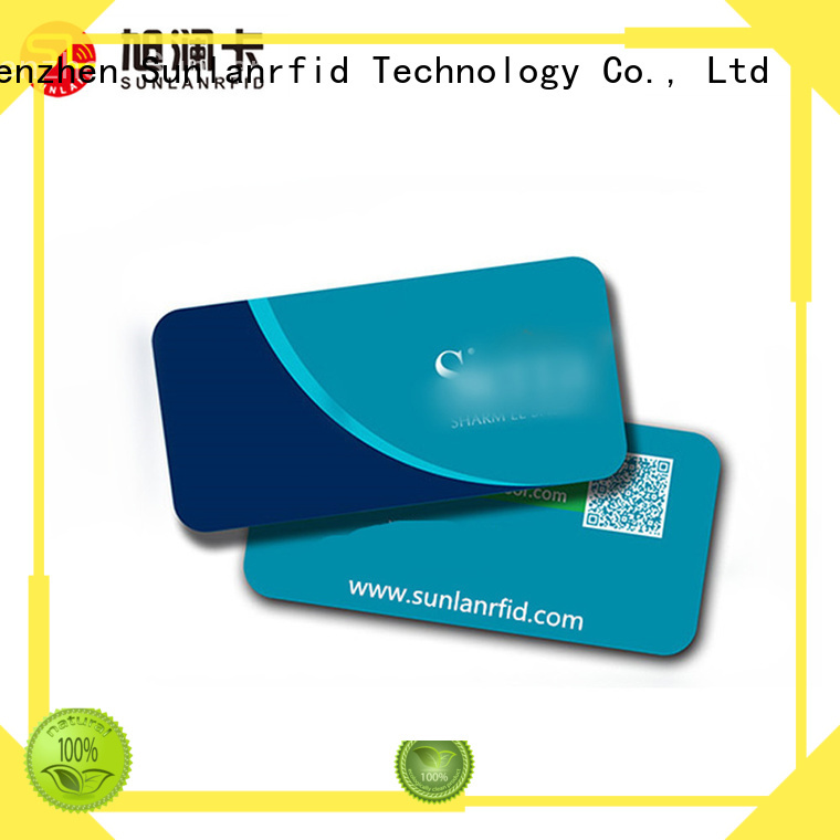 Sunlanrfid mifare hotel room card production for hotel
