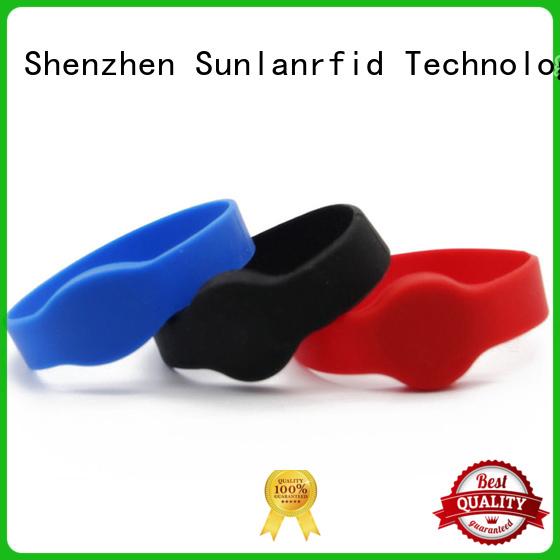 rfid passive rfid wristband wristband for health care Sunlanrfid