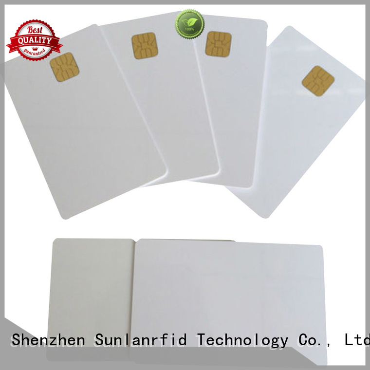 ic smart contact card contact card Sunlanrfid company