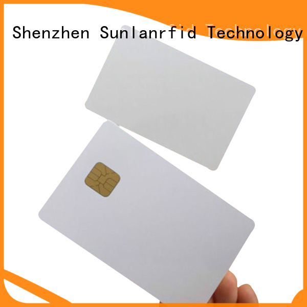 Sunlanrfid card short note on smart card price for time and attendance