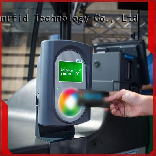 Sunlanrfid ultralight metro transit card balance manufacturer for subway