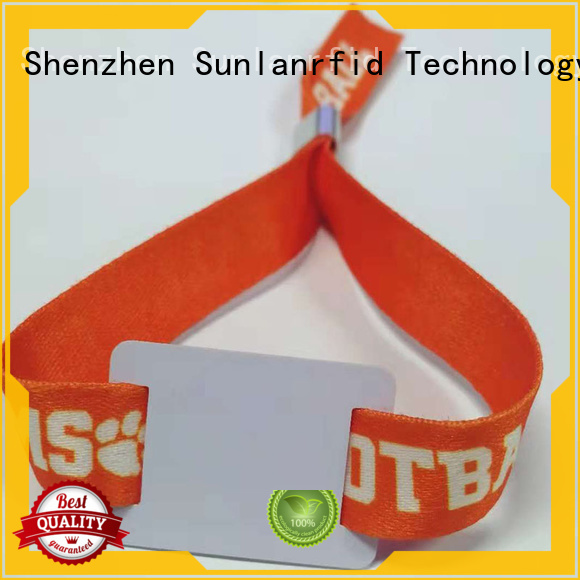 Custom rfid tyvek wristbands wristag Suppliers for fitness center