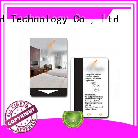Sunlanrfid custom hotel room card supplier for opening door