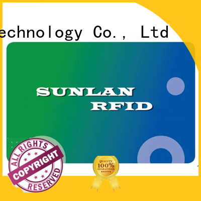 Sunlanrfid mifare ticket smart card manufacturer for access control