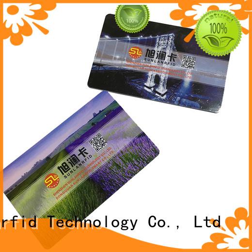 proximity id card printed Sunlanrfid Brand access control card