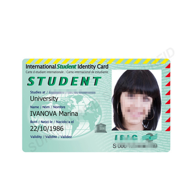 Student ID Card with EM4305 ID Chip