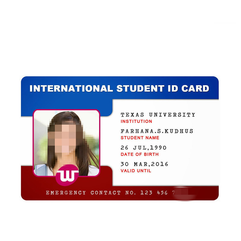 Student ID Card with NTAG215 Chip