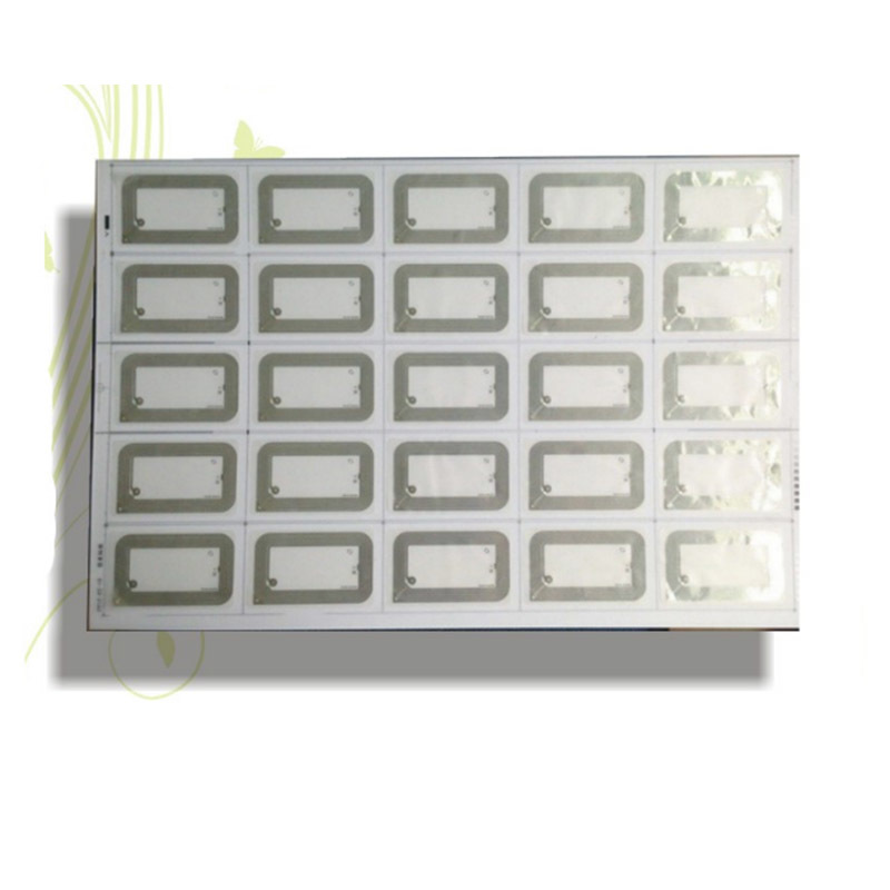 UHF 860-960MHz Rfid Inlay Prelam