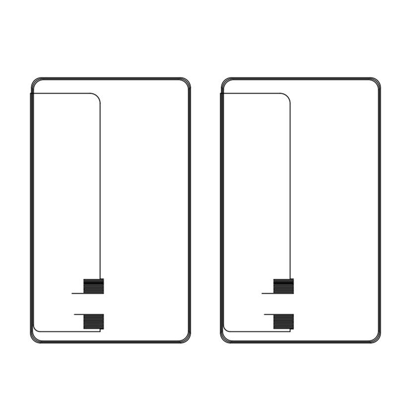Dual interface Card PVC sheet