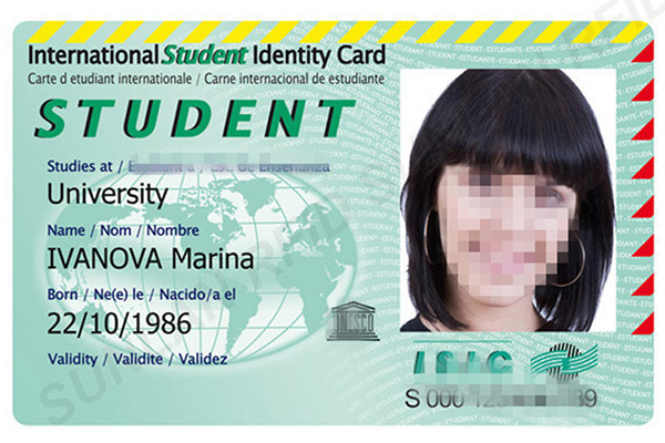 Student ID Card with ICODE SLI Chip-3