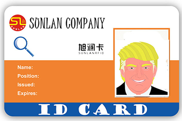 Student ID Card with ICODE SLI Chip-4