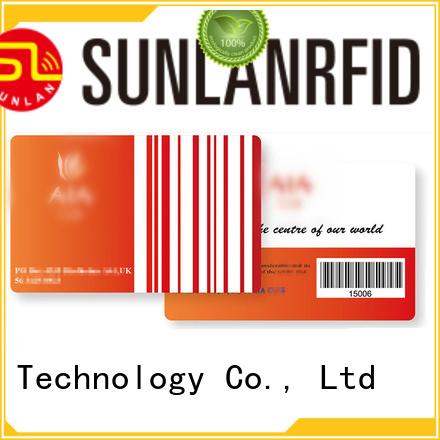 Sunlanrfid online loyalty programma series for shopping Center