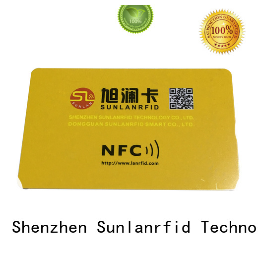 Sunlanrfid card nfc sd card supplier for access control