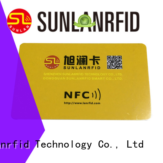 Sunlanrfid nfc nfc id card series for daily life
