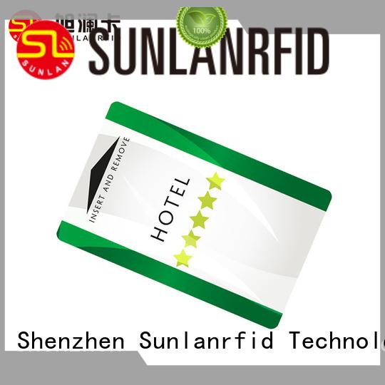Custom ntag216 room key card mifare® Sunlanrfid