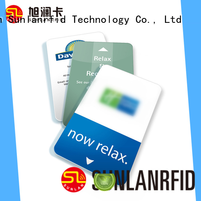 Sunlanrfid ultralight key card wholesale for daily life