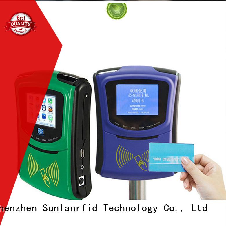 Sunlanrfid plus smart bus card card for parking