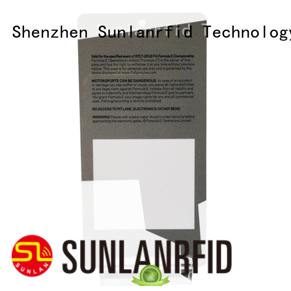 badge card card for time and attendance Sunlanrfid