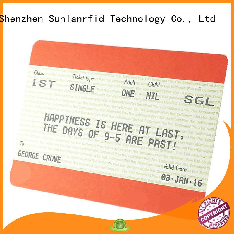 Sunlanrfid ultralight aplicatie ticket restaurant production for access control