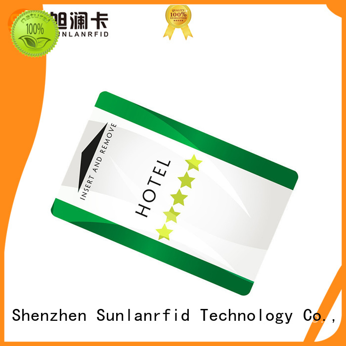 Sunlanrfid hotel electronic key systems for hotels company for hotel