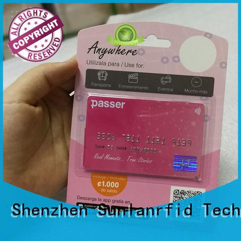 rfid bus card smart desfire Bulk Buy card Sunlanrfid