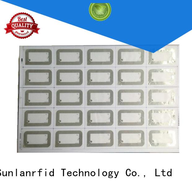 Sunlanrfid antenna HF Inlay Prelam production for normal Smart card