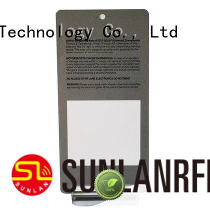 Sunlanrfid mifare id badge production for parking