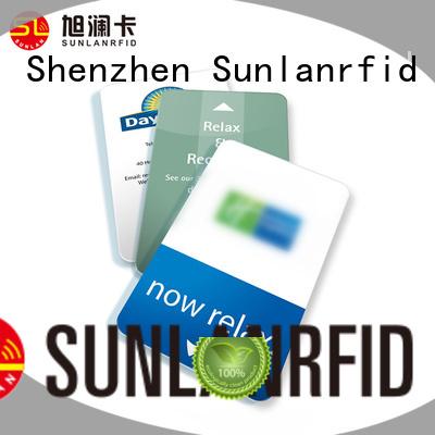 Sunlanrfid classic key card series for hotel
