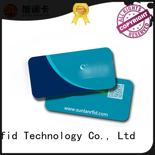 Sunlanrfid custom key card wholesale for hotel