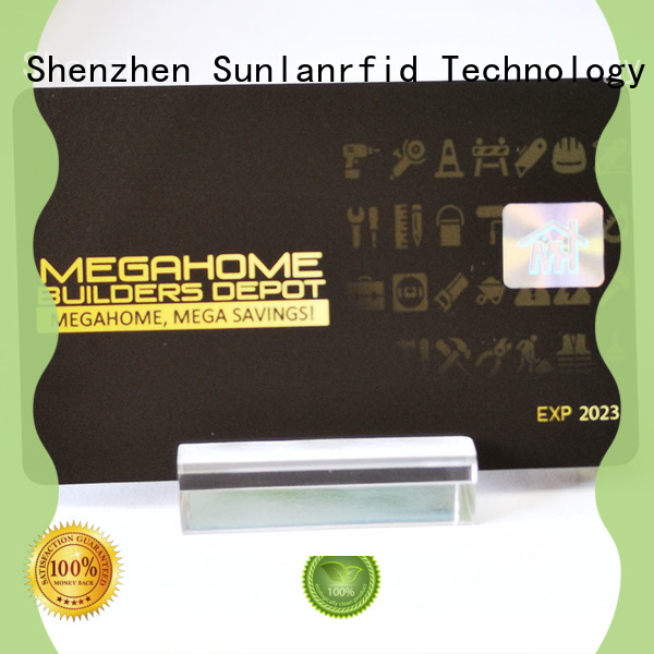 Sunlanrfid transit smart bus card supplier for bus