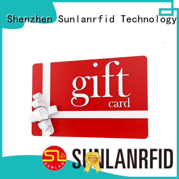 ultralight customer loyalty cards gift industry Sunlanrfid