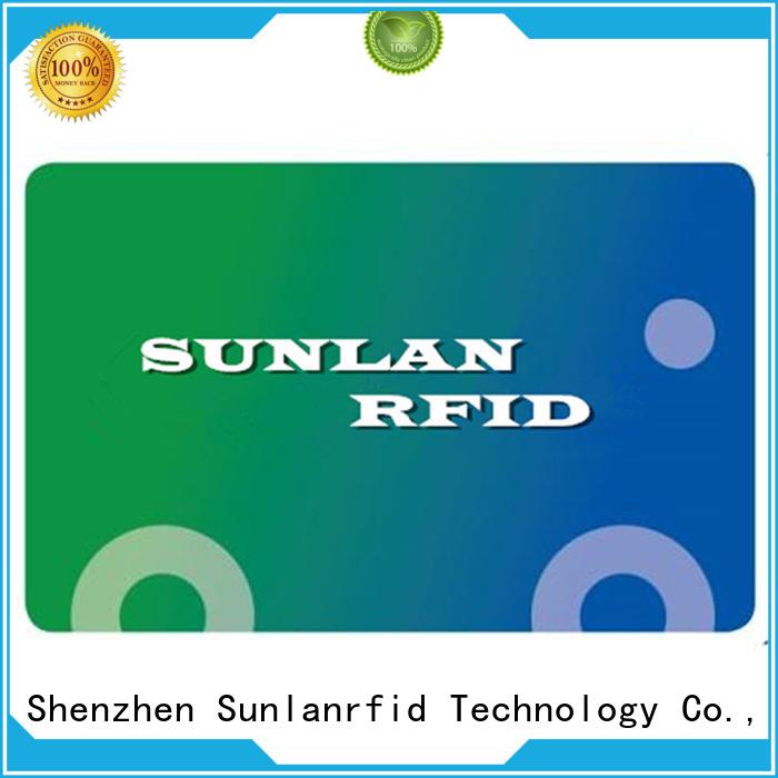Custom pvc train smart card pet Sunlanrfid