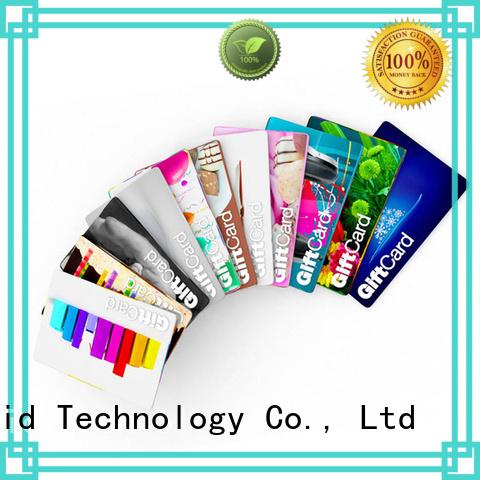 Sunlanrfid icode rfid smart card series for transportation