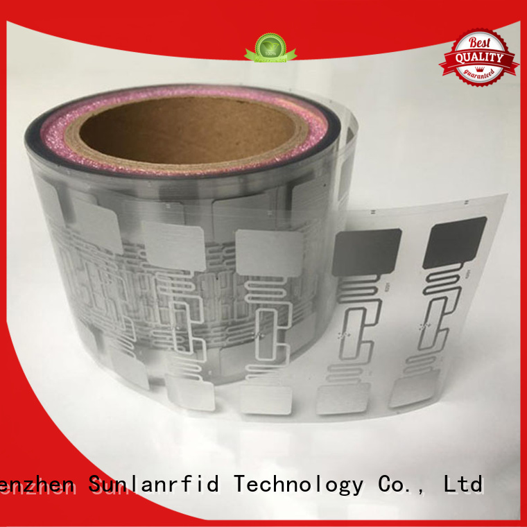 Sunlanrfid active inlay label series for daily life