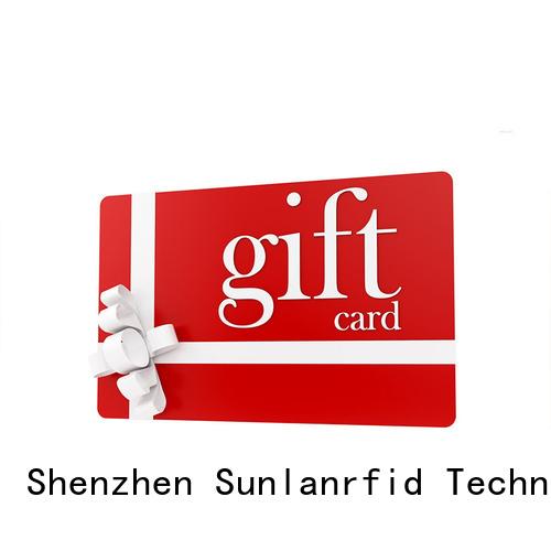 Sunlanrfid slix customer loyalty card programs Supply for access control