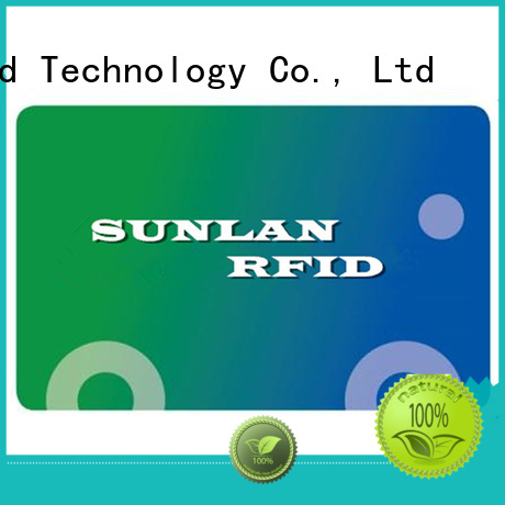Sunlanrfid card bus smart card supplier for daily life