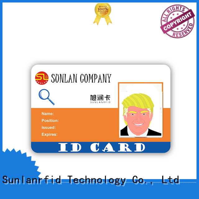 Sunlanrfid online student card wholesale for parking