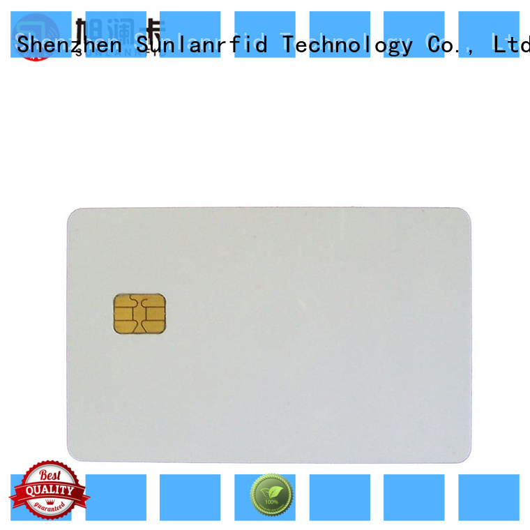 Sunlanrfid online contact card supplier for parking