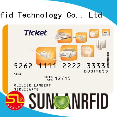 pet card ultra Sunlanrfid Brand train smart card