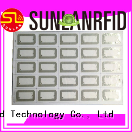 Sunlanrfid online HF Inlay Prelam production for daily life