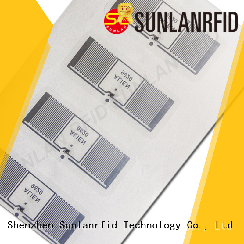 sticker inlay card product for warehouse Sunlanrfid