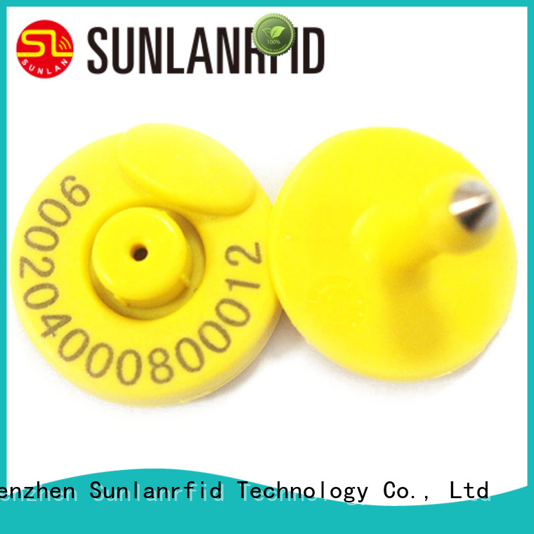 Sunlanrfid animal dog license tag factory for daily life