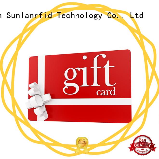 Sunlanrfid rfid smart card manufacturer for access control