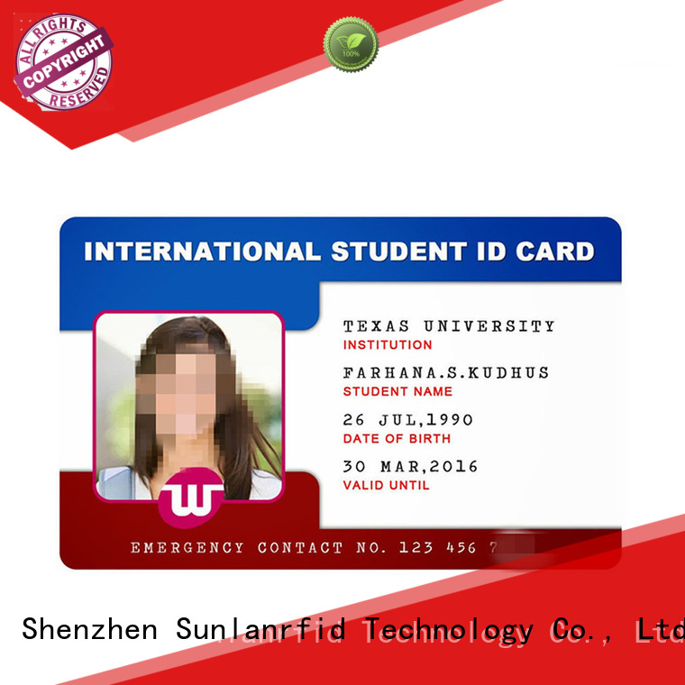 durable free id card template supplier for transportation